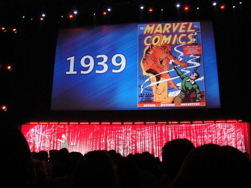 File:D23 Expo 2011 - Marvel panel - 1939 - Marvel Comics debuts! (6080860629).jpg
