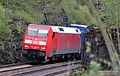 DB BR 152 100-4 Güterzug - Freight train - (DE) Treuchtlingen - 20.04.2014 (14083997905).jpg