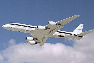 Xenu - Image: DC 8 72 overflight