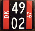 DENMARK 1967 temporary porcelain plate - Flickr - woody1778a.jpg