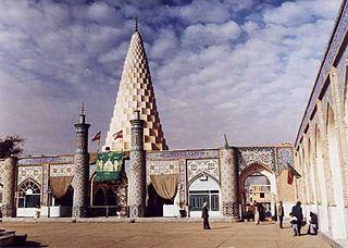 Tomb of Daniel tomb in Shush, Iranian national heritage site