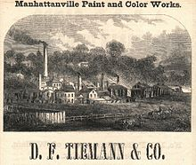 Daniel F. Tiemann's paint factory in 1850s.jpg
