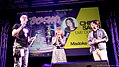Danny Choo and Chiwa Saito at Anime Festival Asia 20111126.jpg