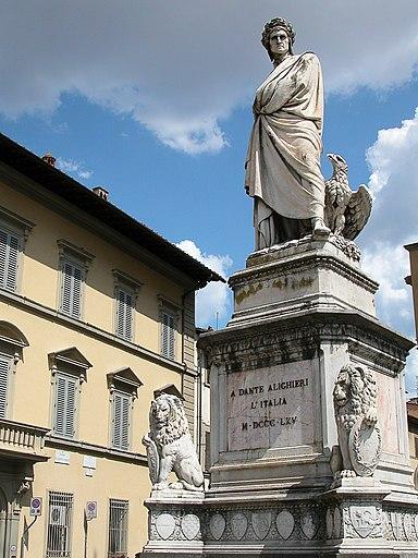 Dante santa croce florence2