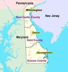 デラウェア州とは - goo Wikipedia ...