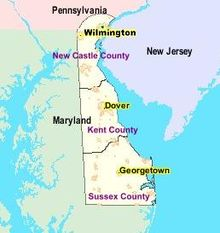 Outline of Delaware - Wikipedia
