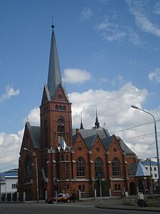 Daugavpils Evangelical Lutheran church of Martin Luther2.JPG