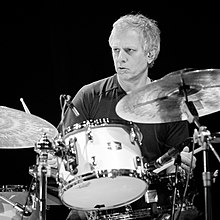 Dave Weckl performing in 2018