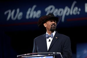 David Clarke (sheriff) - Clarke at the 2017 Conservative Political Action Conference
