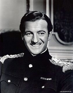 David Niven on screen, stage, radio, record and in print Beloved actor