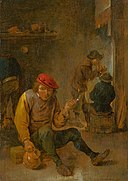 David Teniers - Smoking Peasants (Pipe Smokers) - O 294 - Slovak National Gallery.jpg