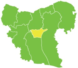 Dayr Hafir District in Syria
