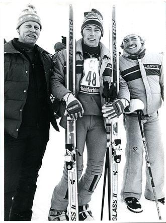 Australia at the 1980 Winter Paralympics - Kjell Blomgvist, Kyrra Grunnsund, Ron Finneran at the 1980 Geilo Paralympic Winter Games