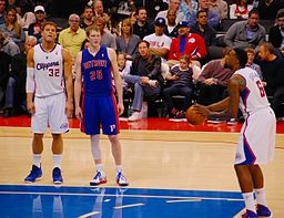 DeAndre Jordan free throw
