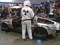 DeLorean at Melbourne Armageddon 2009.JPG