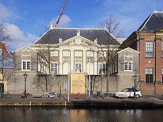 Art museum in Leiden, Netherlands