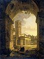 De kerk van San Giorgio in Velabro te Rome Rijksmuseum SK-A-1117.jpeg