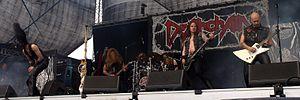 Deathchain - Deathchain live at Myötätuulirock 2011