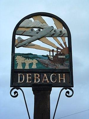 Debach - Debach village sign