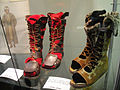 "Debbie Reynolds Auction - Charlton Heston and Jack Hawkins high sandal boots from ""Ben-Hur"" (1959) (5851596277) (2).jpg"