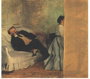 Suzanne Manet - Edgar Degas, M. and Mme Édouard Manet, 1868-1869,