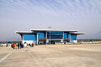 Dehradun Airport - Airside view of the terminal