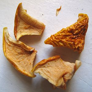Apple chips - Basic dehydrated apple chips