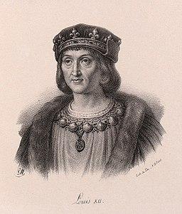 Delpech - Louis XII of France