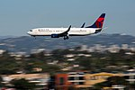 Delta Air Lines Boeing 737-800 (N3754A) at LAX (22935772295).jpg