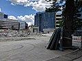 Demolition of Myuna complex, Canberra City.jpg
