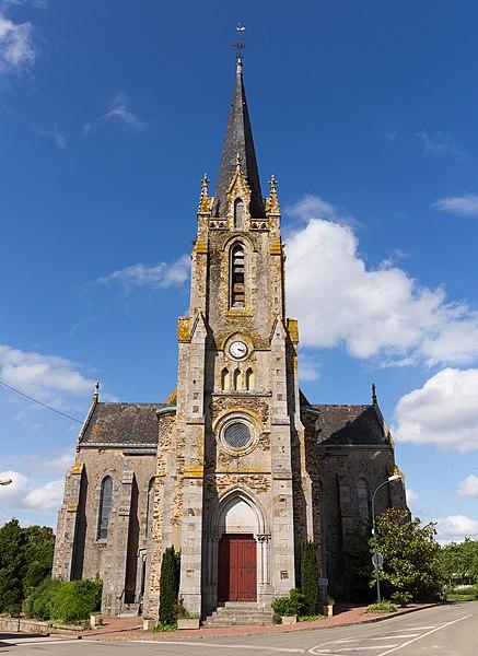 Church of Denazé.
