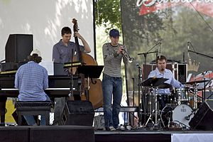 Denton Arts and Jazz Festival - Image: Denton Arts and Jazz Festival A Small Group