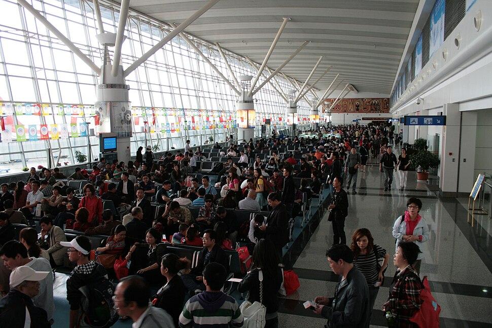 Departure Hall of Gonggar Airport
