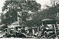 Destroyed trucks after Battle of Surabaya, Impressions of the Fight ... in Indonesia, p21.jpg