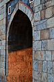 Details in the arched gate of Purana Qila..JPG