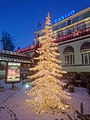 Detailshot of the enlighted Chrismass tree in front of the Divonne casino - panoramio.jpg