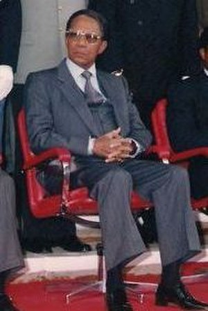 Minister of Foreign Affairs (Madagascar) - Image: Didier Ratsiraka (cropped)