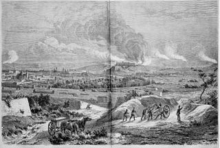 Bombardment of the fortress Marienberg (1866)