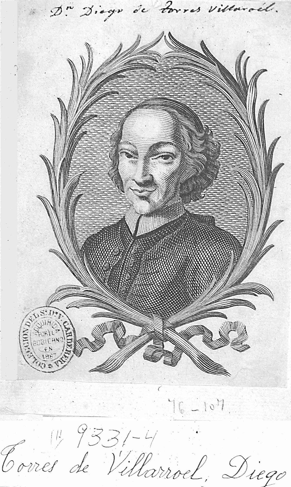 Diego de Torres Villarroel - Wikipedia, la enciclopedia libre