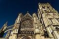 Dieppe - Place Saint-Jacques - View East on Église Saint-Jacques II.jpg