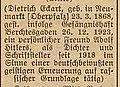 Dietrich-Eckart-Platz – Name Herleitung, Adressbuch der Stadt Düsseldorf 1940 – nach 1945 Albrecht-von-Hagen-Platz.jpg