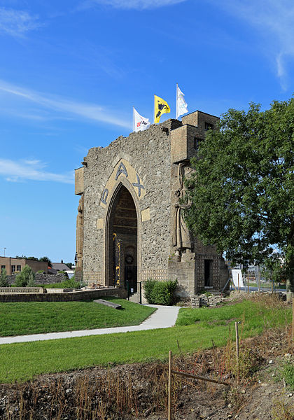 Diksmuide (Belgium): the Paxpoort (Gate of Peace)