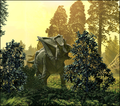 Dinosaur park formation fauna (cropped-02a).png