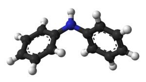Diphenylamine - Image: Diphenylamine 3D balls