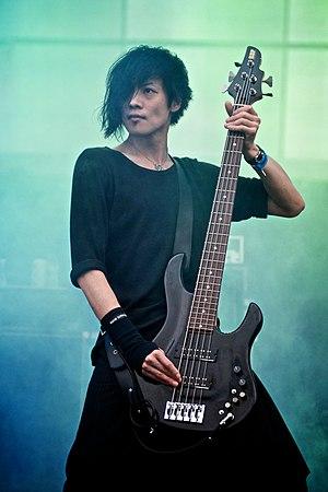Toshiya (musician) - Toshiya at Maquinaria Festival, 2009