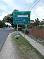 Directional road sign refer to M3 Motorway, Gödöllői Road, 2020 Mogyoród.jpg