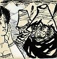 Disegno per copertina di libretto, disegno di Peter Hoffer per Fra Diavolo (s.d.) - Archivio Storico Ricordi ICON012439.jpg