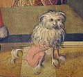 Disput der hl Katharina mit den Philosophen detail Hund.jpg