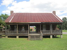 A Mid 19th Century Dogtrot House In Dubach Louisiana