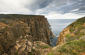 Dolarite Cliffs of Cape Raoul.jpg